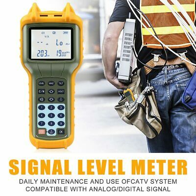Digital Signal Level Meter Ry-s110 Catv Cable Tv Handle Digital Db Tester Tool