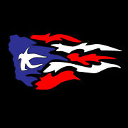 Puerto Rican Flag Sticker