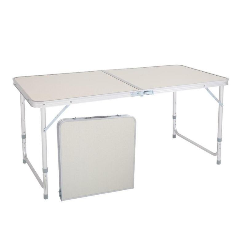 Portable Indoor Outdoor Aluminum Folding Table 4