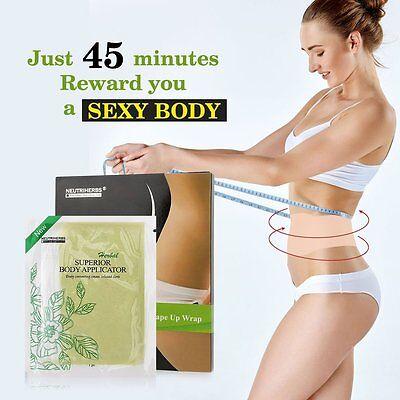 6 Body Wraps Ultimate Applicators it works to Tone Tighten