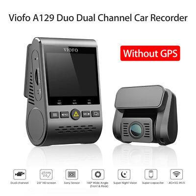 HD Viofo A129 Duo Front & Rear Wi-Fi Car Dash Cam Night Visi