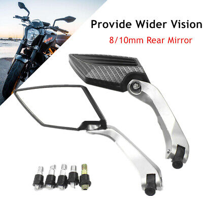 Modified Motorcycle Scooter Side Mirror Rear View Mirrors Driving Review Mirror