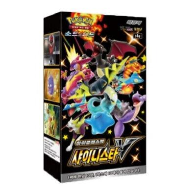 Pokemon Card Game Sword & Shield High Class Pack Shiny Star V Box / Korean Ver.