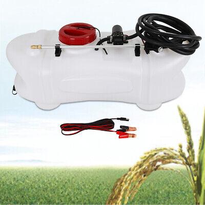 12v Weed Sprayer 60l Uv Stabilised Tank 1m Spray Boom Self-priming Pump Us