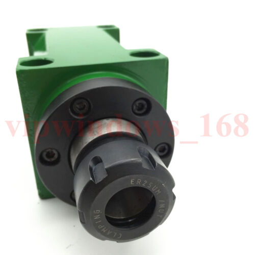 1hp Power Head 750W 0.75KW Cutting/Boring/Milling/Drilling