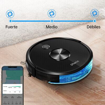 D5s Alexa Robot Aspirador y Fregasuelos 4 en1 Mapeo Navegación 2200 Pa...