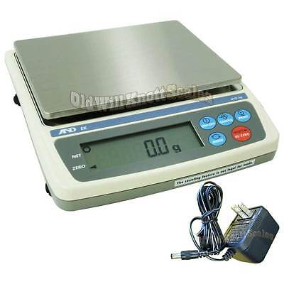 Ad Ek-1200i 1200 X 0.1g Ntep Legal For Trade Jewelry Weighing Digital Scale And