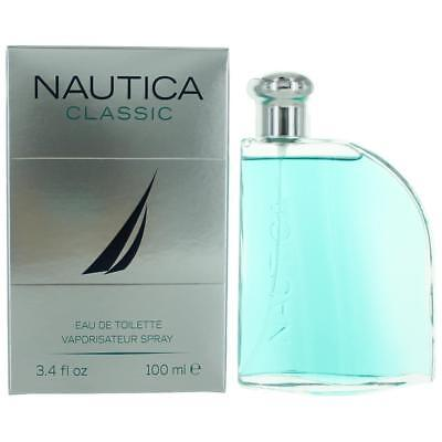 Nautica Classic Cologne by Nautica, 3.4 oz EDT Spray for Men (Classic Cologne Spray)