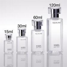 HABA Squalane Oil 15ml 30ml 60ml 120ml (100% Squalene Beauty Oil & II) JAPAN