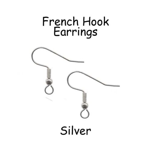 Hypoallergenic Surgical 316L Stainless Steel French Hook Earrings - Pick Qty