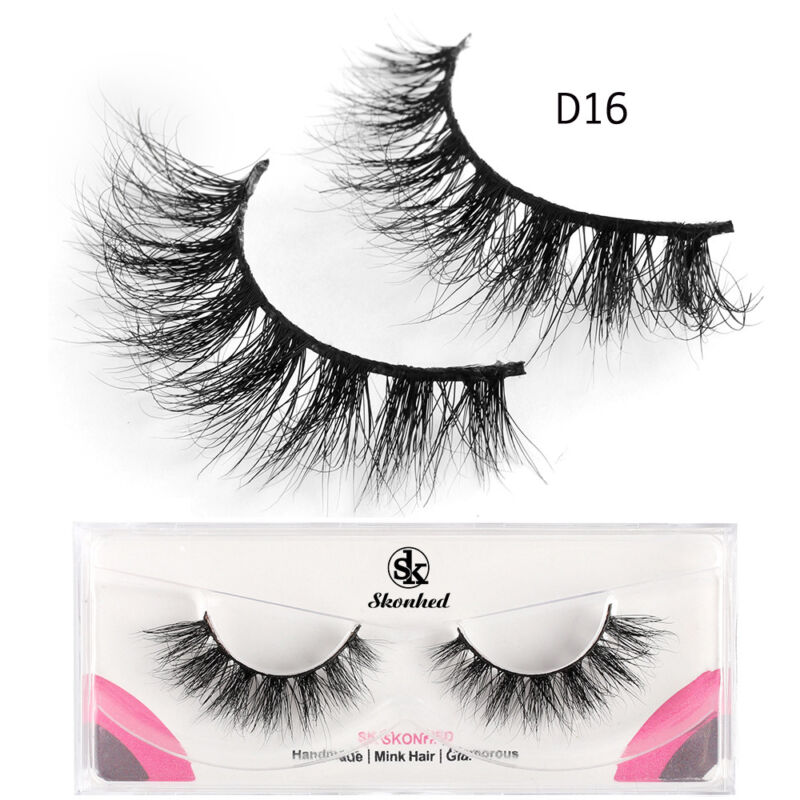 2018 sk skonhed 1 pair 100 mink hair false eyelashes fluffy wispy rh ebay com