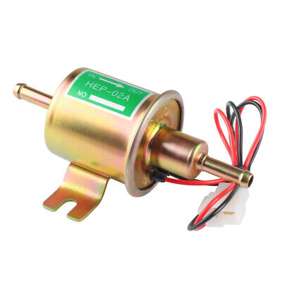 New Gas Diesel Electronic Fuel Pump Inline Low Pressure electric fuel12V HEP-02A