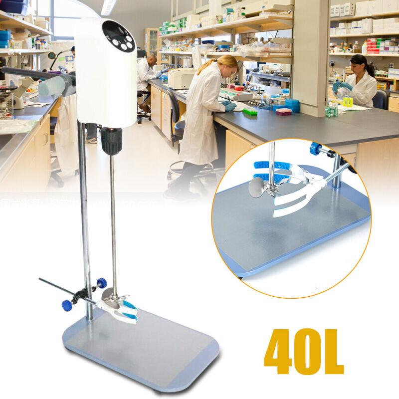 40L Digital Display Agitator Lab Electric Overhead Stirrer Mixer Homogenizer