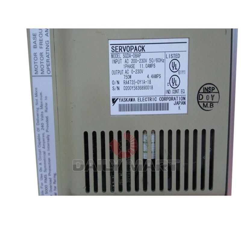 Used & Tested YASKAWA AC SGDA-08AP Servo Drive