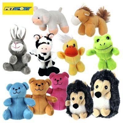 PetSport Plüsch Hundespielzeug - Welpen Spielzeug - Kuscheltier mit Quitschie