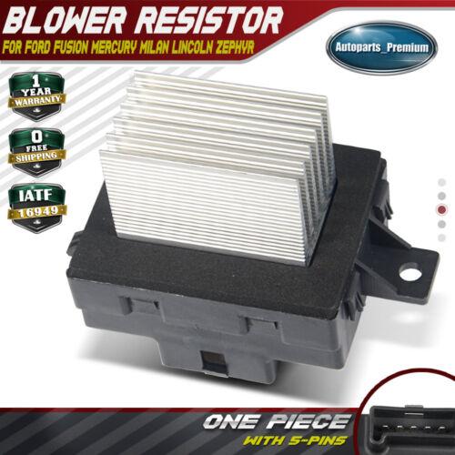 Blower Motor Resistor For Ford Fusion Mercury Milan
