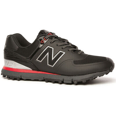 New Balance Nbg 518 Spikeless Golf Shoes Black/Red - Choose Size & Width