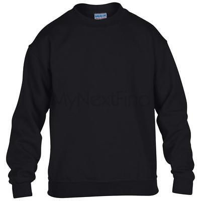 Blend Kids Sweatshirt - Gildan Heavy Blend Kids Boys Girls Crew Neck Sweatshirt