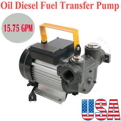 Portable Oil Diesel Transfer Pump Fuel Kerosene Self Priming 60lmin 550w Easy