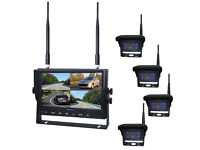 NIGHTVISION 24/12v WIRELESS MONITOR AND 4 CAMERAS