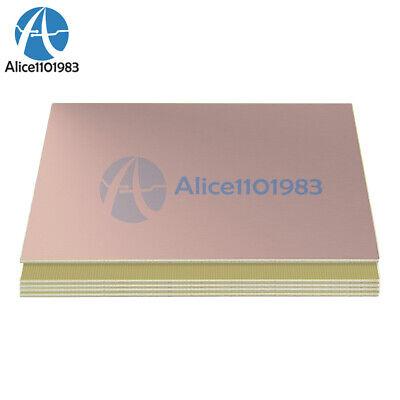 5pcs 10x15cm 10cmx15cm Single Pcb Copper Clad Laminate Board Fr4