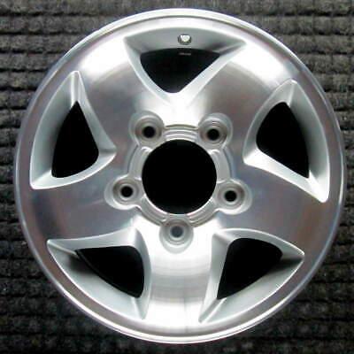 Kia Sportage Machined w/ Silver Pockets 15 inch OEM Wheel 1998 to 2002 1998 Kia Sportage Wheel