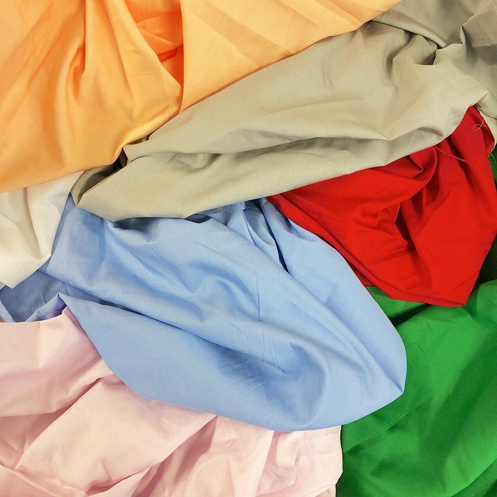 100 percent cotton broadcloth fabric 59 wide