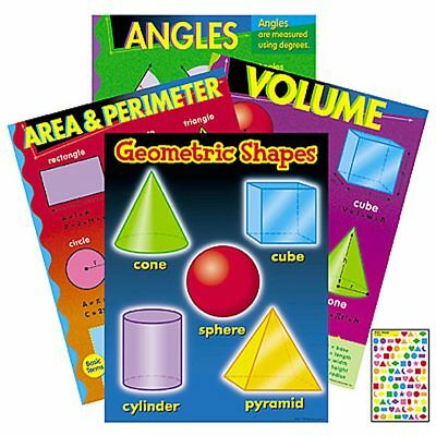 - Geometry Learning Charts Combo Pack Trend Enterprises Inc. T-38912