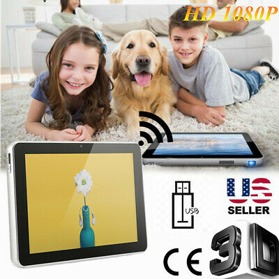 Tablet PC mini projector home HD wifi office 3D home theater