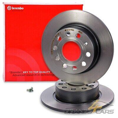Bremsbeläge Hinten Brembo2 Bremsscheiben COATED DISC LINE Voll Ø 280 mm
