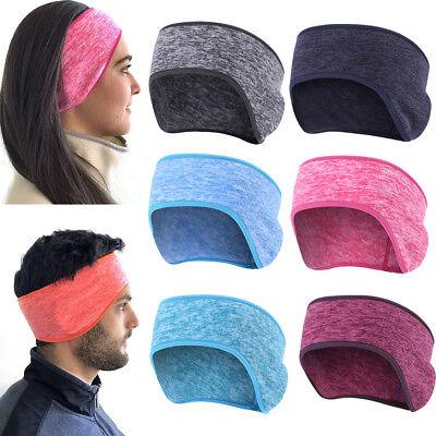 Unisex Women Men Ear Warmers Winter Warm Head Band Fleece Ski Ear Muff Stretch - Fleece Headbands
