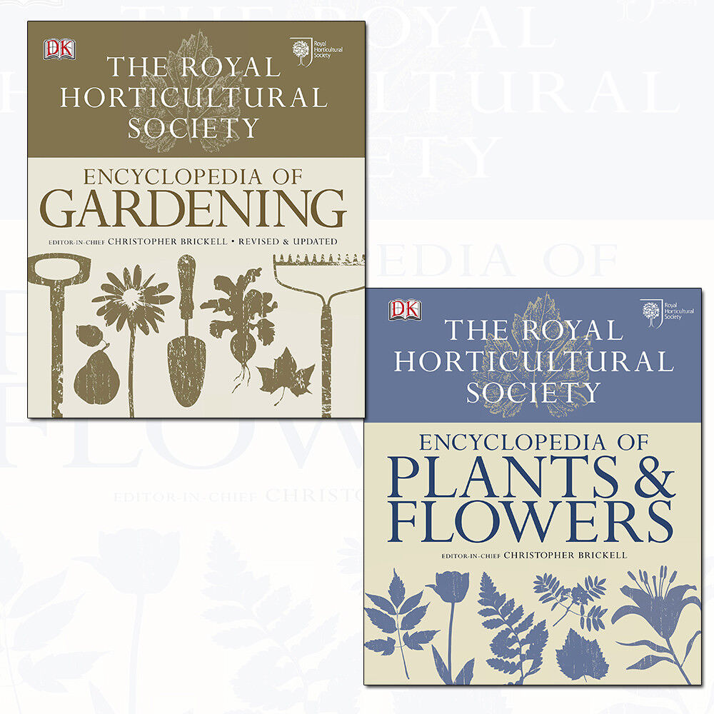 RHS Encyclopedia of Gardening and Plants and Flowers 2 ...
