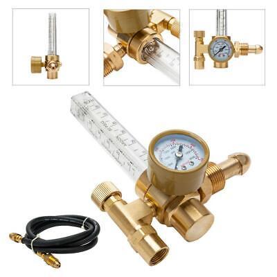 Cga-580 Argon Co2 Mig Tig Flow Meter Regulator Welding Flowmeter 3500psi W Hose