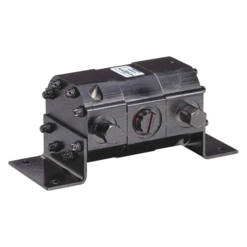 """Concentric 1100042 Rotary Gear Hydraulic Flow Divider  9.85""""x4.25""""x4"""" 4F662"""