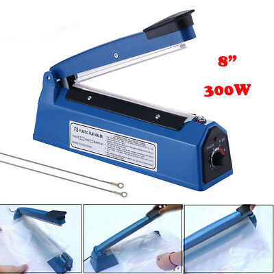 8 300w New Plastic Heat Sealer For Pepp Bags 110v Precision Electronic Control