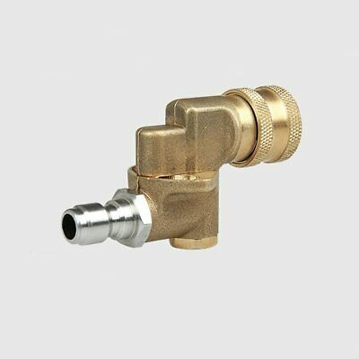 Tool Daily Pivoting Coupler For Pressure Washer Tips Gutter Cleaner Attachment