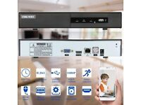 OWSOO 1TB 4CH 1080P H.264 P2P NVR CCTV Security Phone Control Motion Detection
