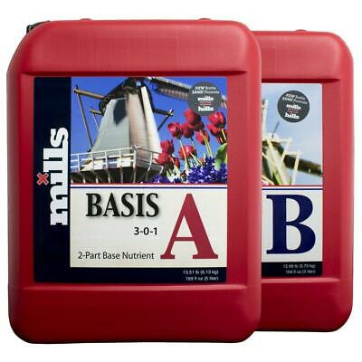 DNA Mills Basis 5L Base Nutrient A and B Soft Water