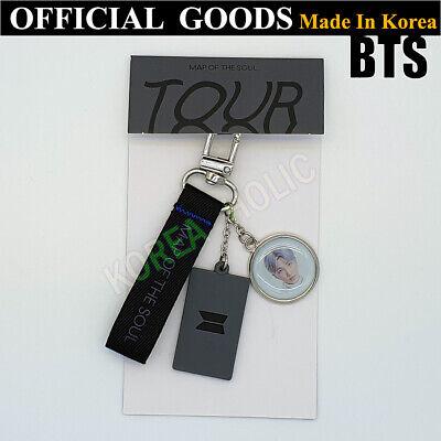 BTS Map Of The Soul Tour Keyring RM OFFICIAL GOODS Bangtan Boys Keychain K-Pop