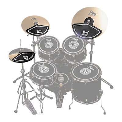 Pearl Drums RP40C Rubber Cymbal Pad Muffler Set