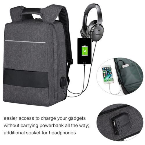 """Rucksack USB 17,3"""" Notebooktasche Notebook Laptop Tasche Backpack 17 Zoll"""