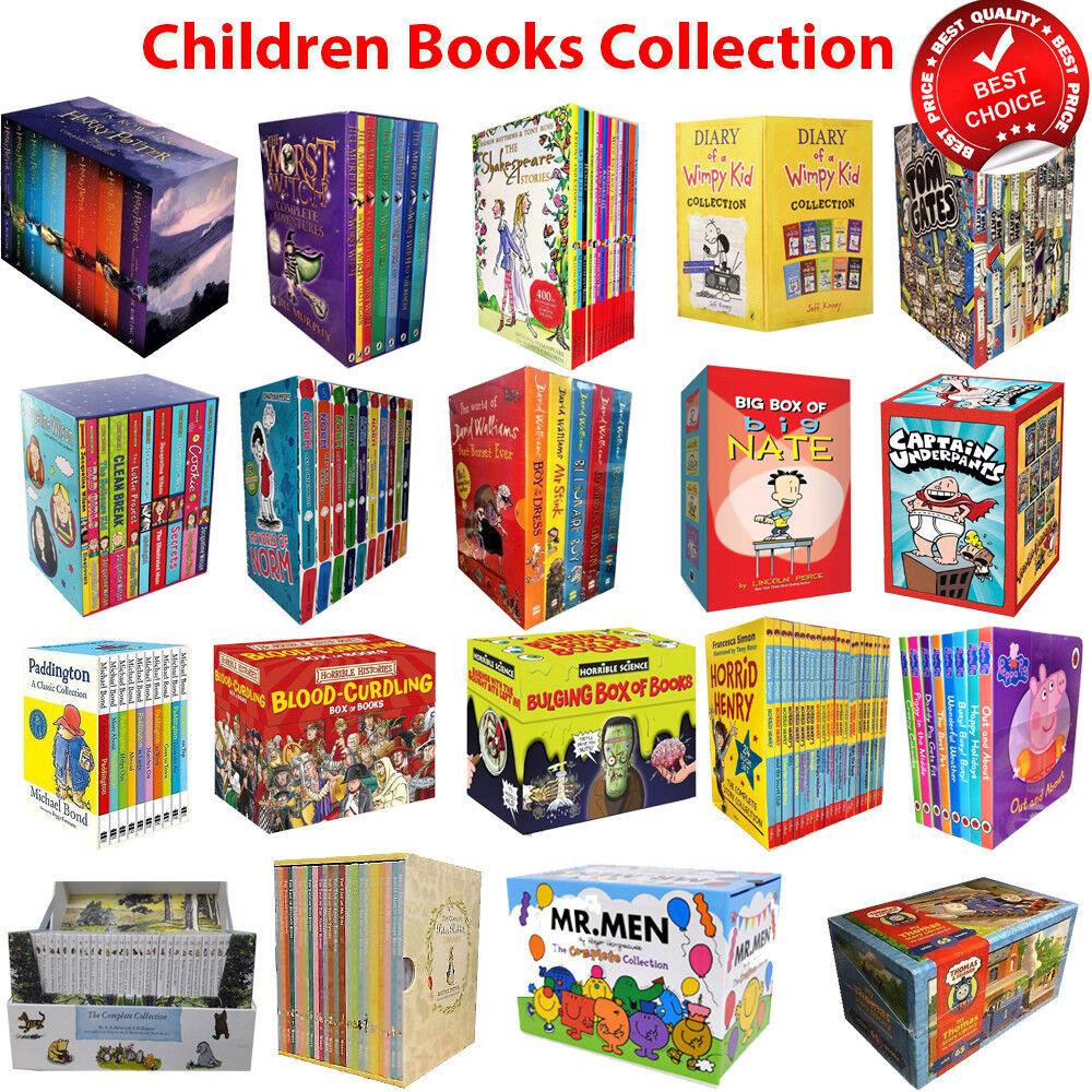 Childrens series books Dork Diaries Goosebumps Paddington Horrid Henry Roald Set