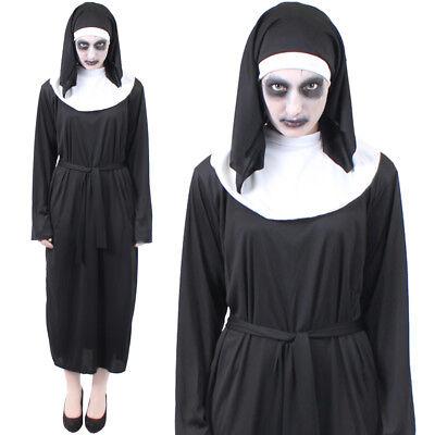 THE NUN CONJURING FANCY DRESS COSTUME HALLOWEEN HORROR DEMON VALEK OUTFIT