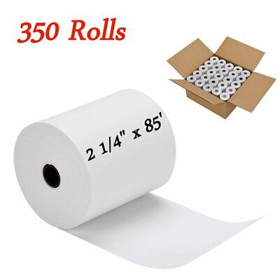 350 Rolls Cash Register Credit Card Pos Thermal Receipt Paper Label 2 14 X 85