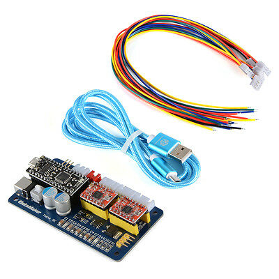 2 Axis Usb Laser Control Stepper Motor Driver Board For Engraving Machine Te693