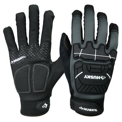 Husky Heavy Duty Mechanics Gloves Size- Xl 1002-707-478