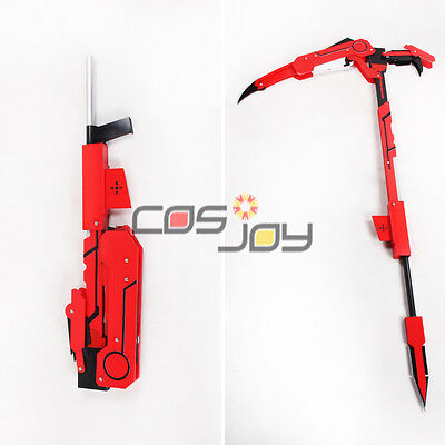 Rwby Ruby Crescent Rose The High Velocity Sniper Scythe Transformed Cosplay 1449