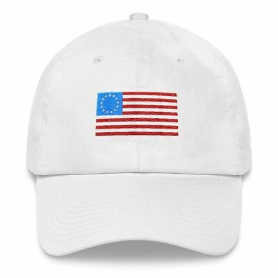 Betsy Ross American Flag Dad Hat