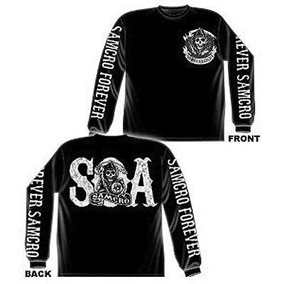 Sons Of Anarchy Samcro Forever Soa Men S Long Sleeve T Shirt