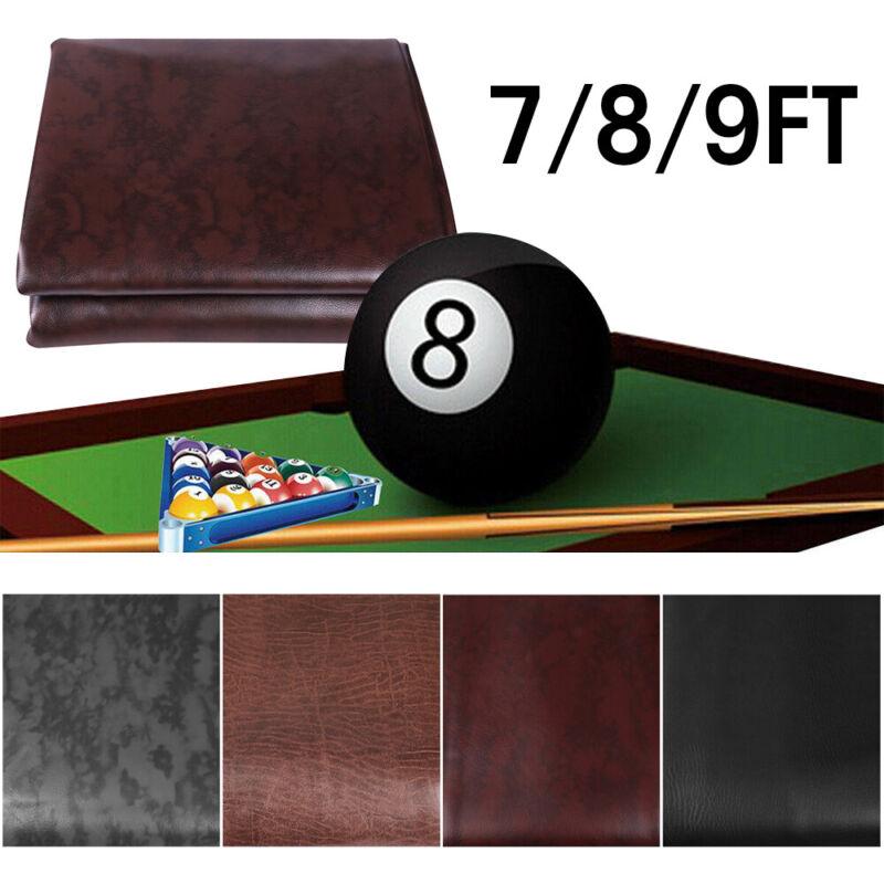 Heavy Duty Leatherette Billiard Pool Table Cover Dust Waterproof Fitted 7